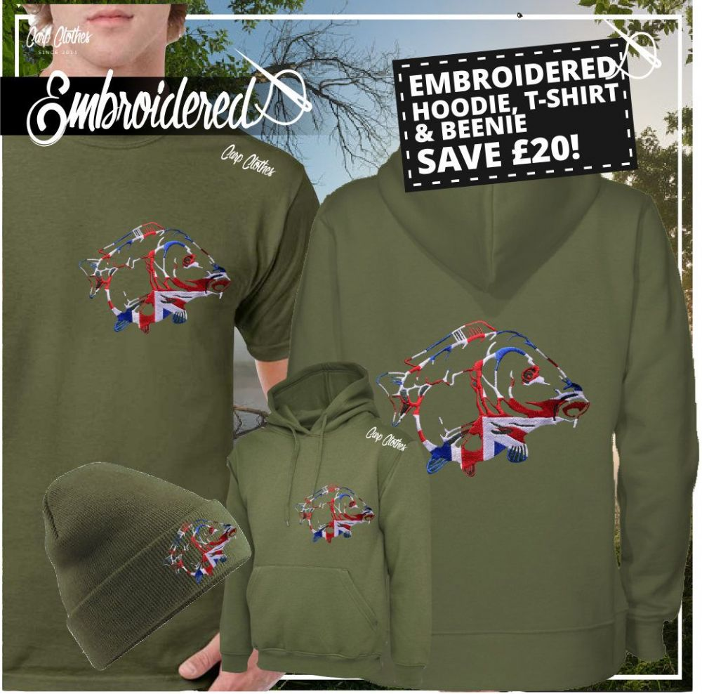 034 EMBROIDERED CARP DEAL